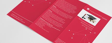 Folder UdK Promovendinnen-Netzwerk